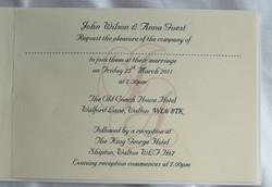 Adorn Standard Invitation Inside