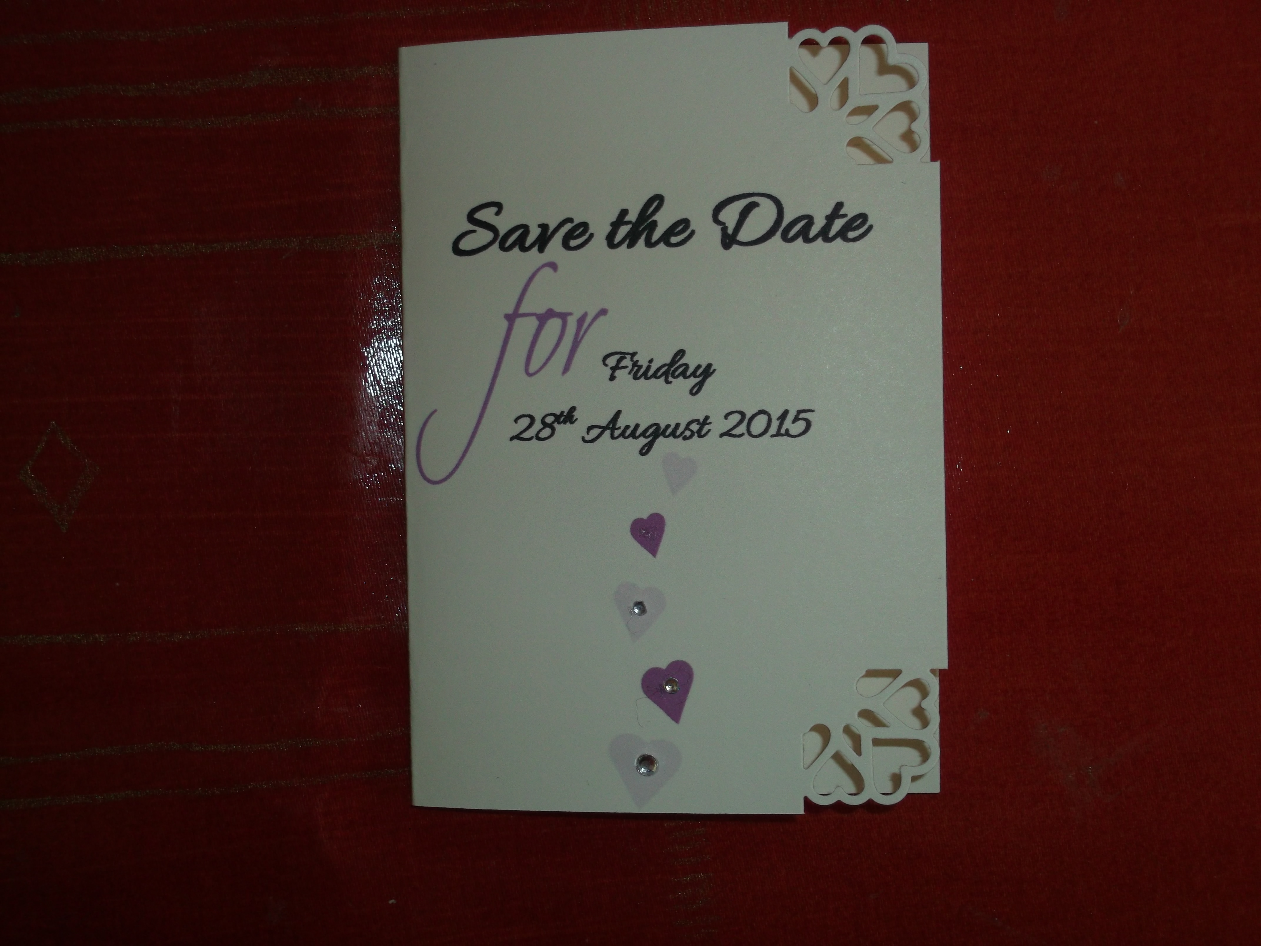Dior Romance Save the Date Booklet