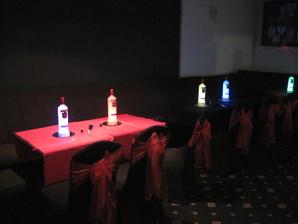 LED Smirnoff Bottles