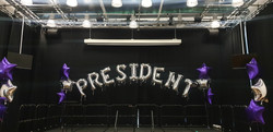 PRESIDENT Silver Letters