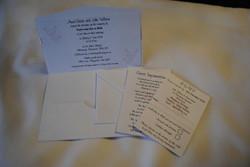 Flutter Butterfly Pocket Fold Invite