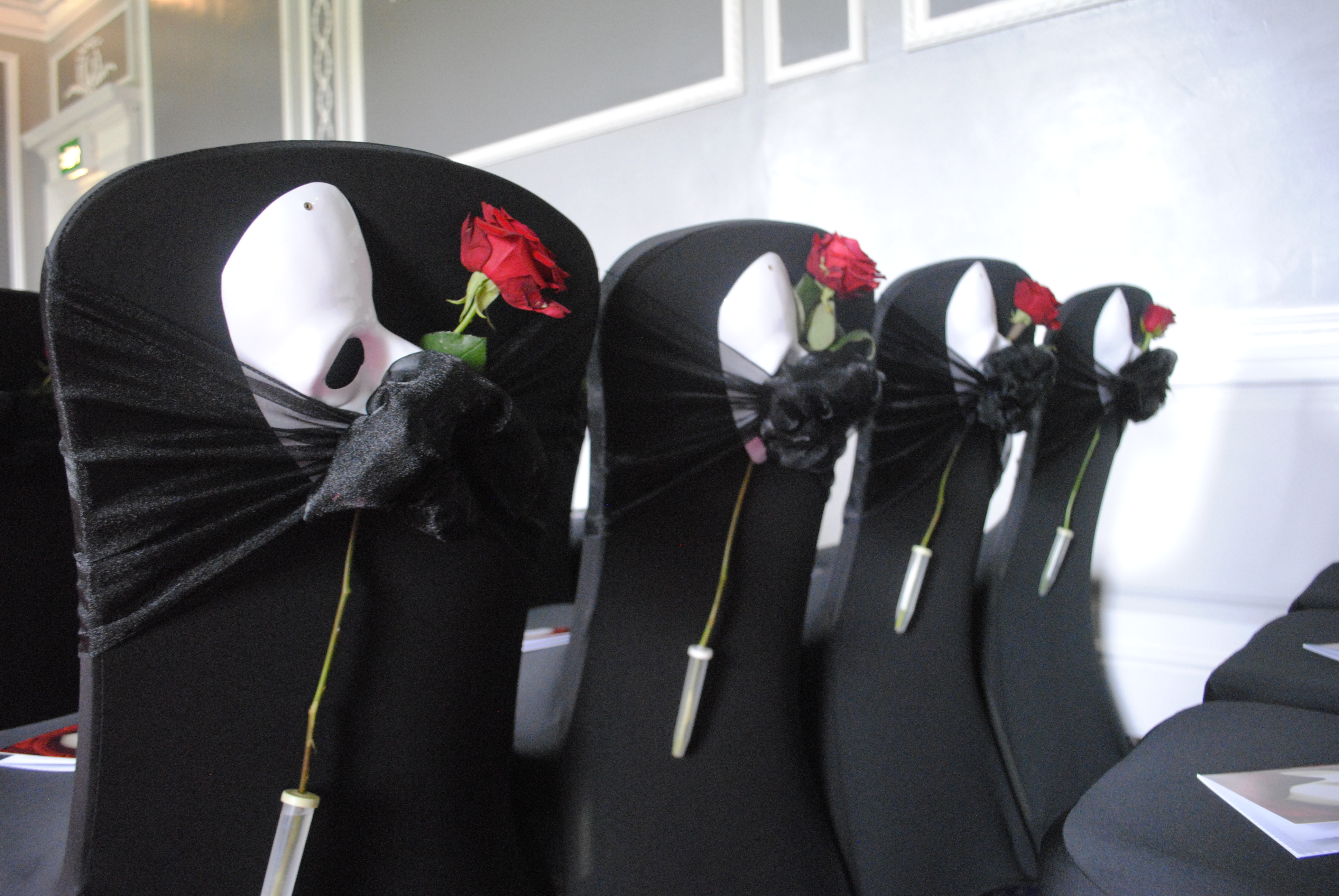 Phantom Masks & Rose