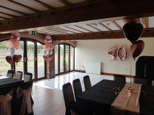 Twinkle Dancefloor & Balloons