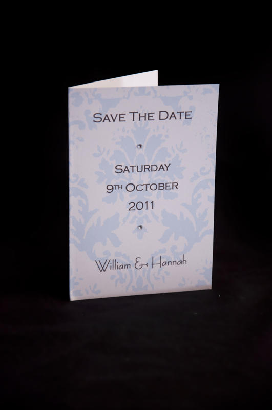 Save the date booklet