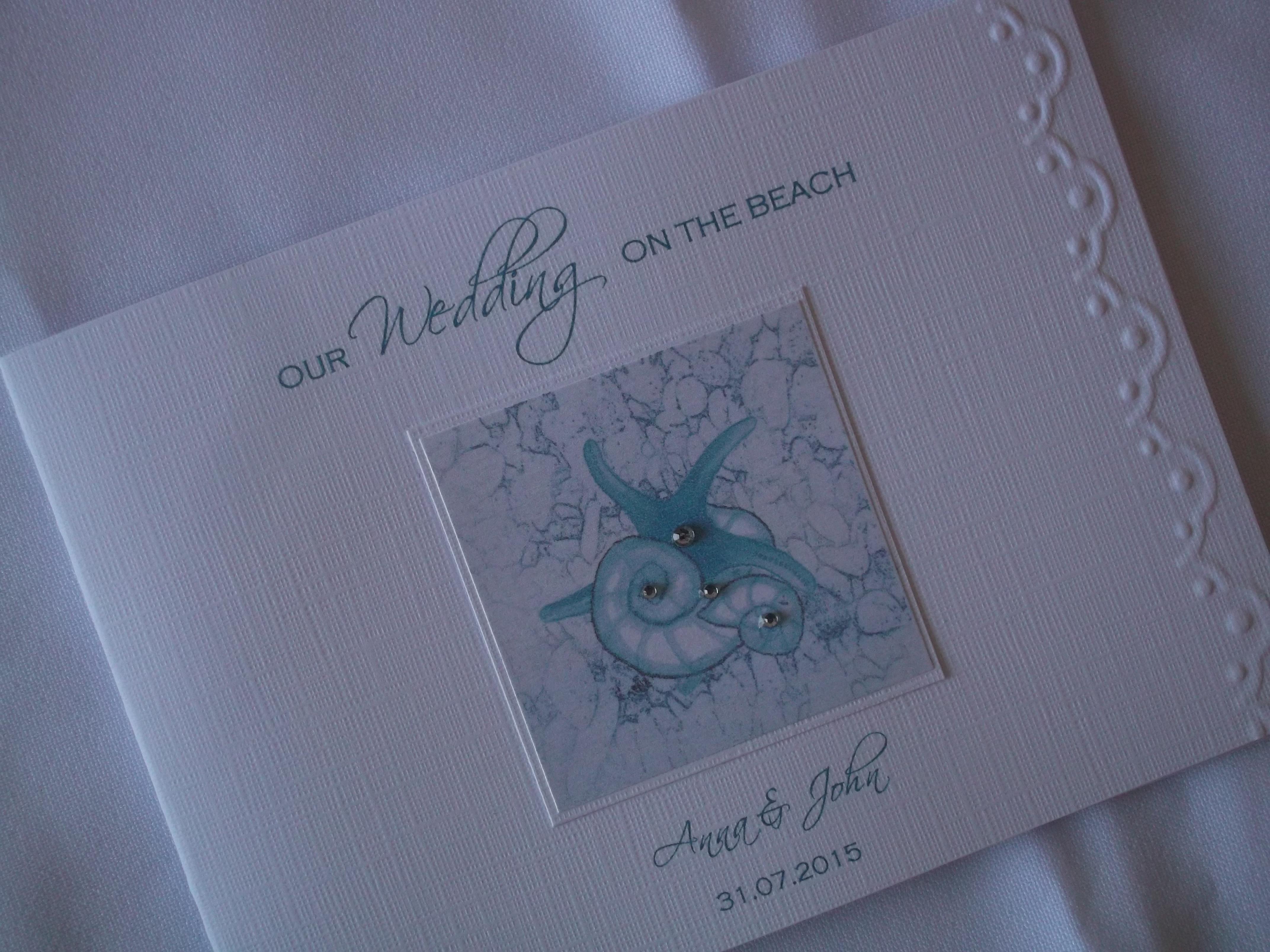 Shoreline Wedding Invitation