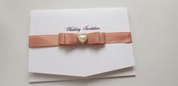 Dior Bow Blush Pocket Invitation