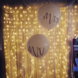 Mr & Mrs 3ft Balloons
