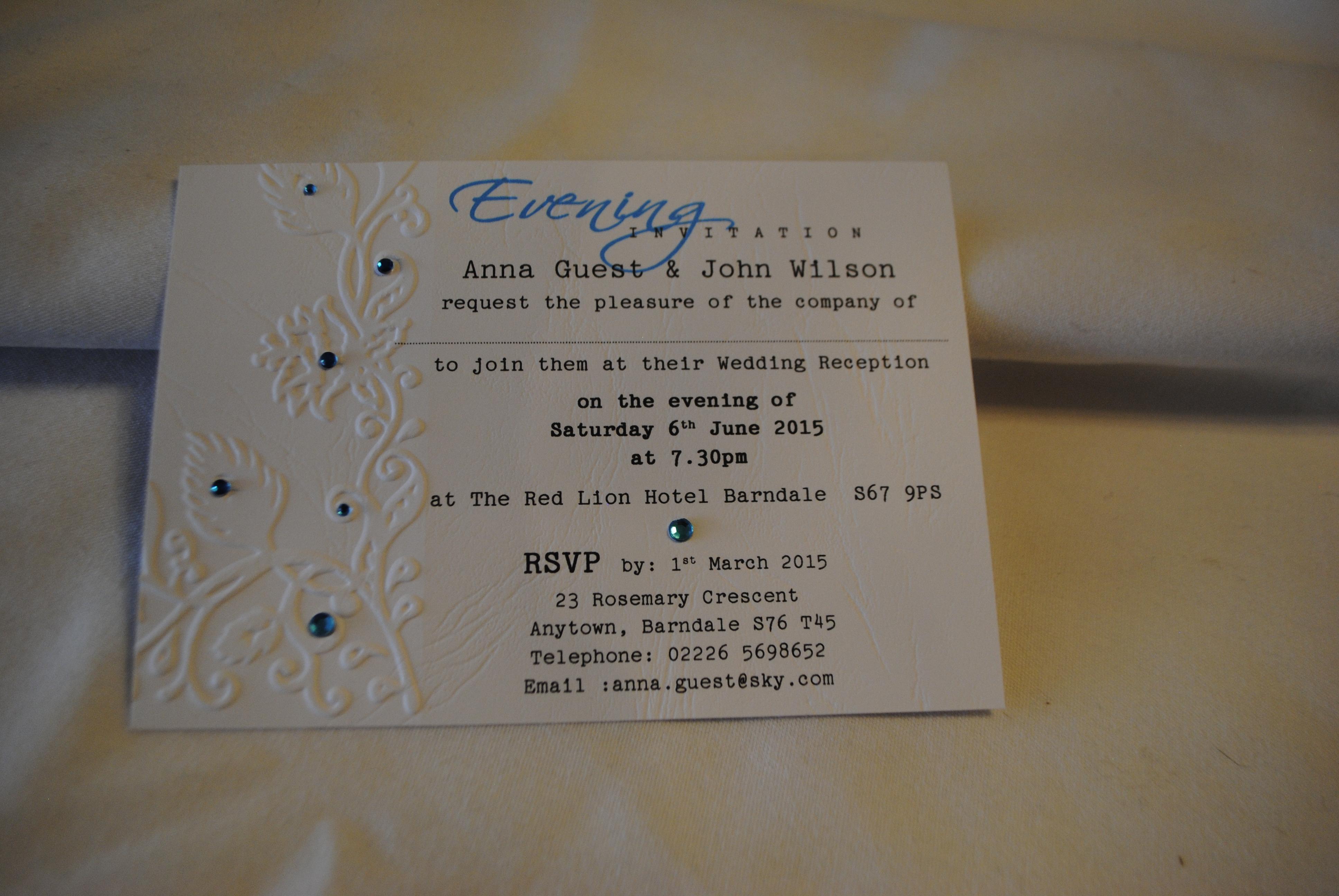 Elegant Peacock Postcard Invitation