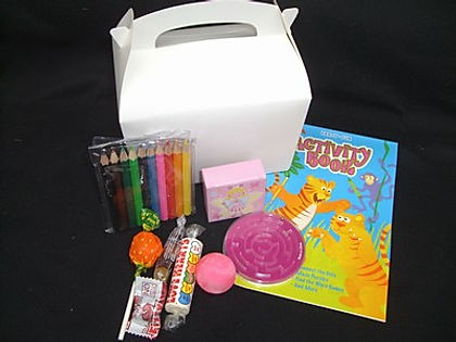 Kiddy pack contents