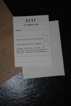 Ration Book Day Invite RSVP