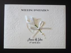 Calla Lace Wedding Invitation