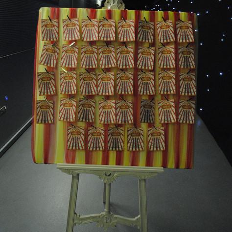 Circus Table Plan