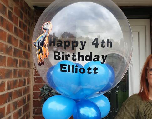 Dinosaur bubble balloon balloon