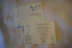 Flutter Butterfly Invitation Set