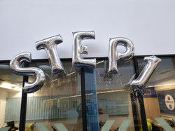 STEP 1 Silver Letters