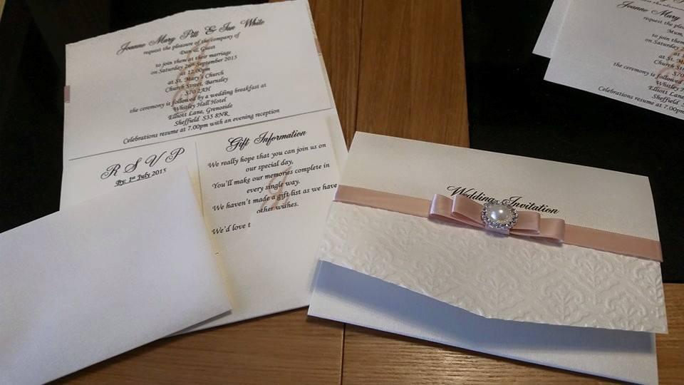 Dior Bow Pocket Day Invitation