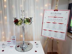 Dior Romance Table Plan