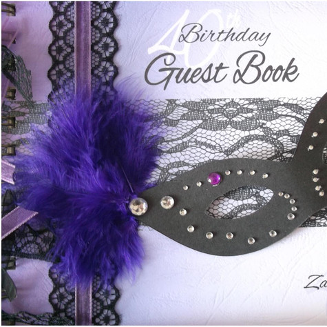 Masquerade Guest Book