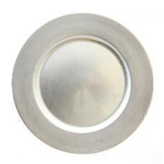 Silver Charger Plate Hire