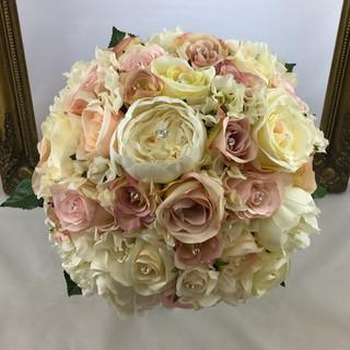Artificial Mixed Blush Pink Bouquet