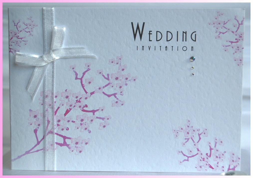 Blossom Tree Standard Wedding Invite