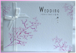 Blossom Tree Standard Wedding Invite