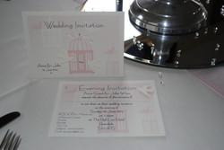Birdcage Standard & Postcard Invite