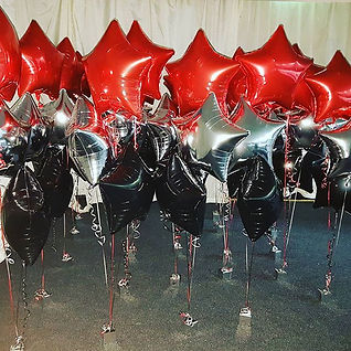 foil trio of balloons