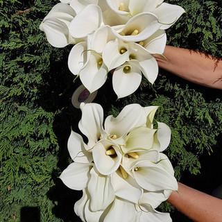 Fresh Calla Lily Bouquet