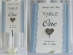 Timeless Table Number