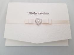 Dior Bow Pocket Fold Invitation
