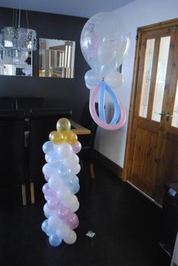 Dummy & Bottle Balloon