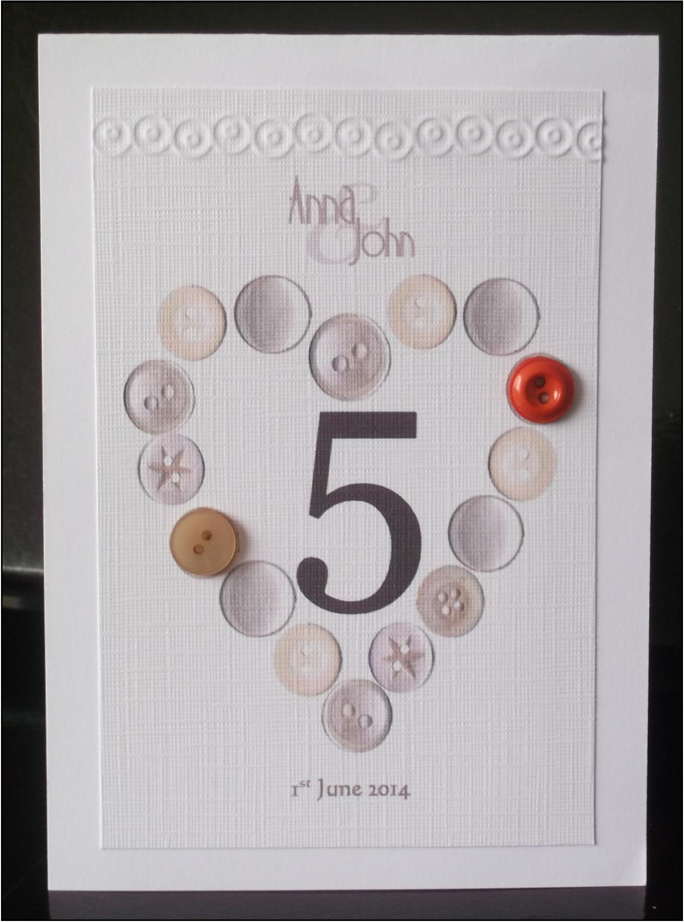 Beau Button Table Number