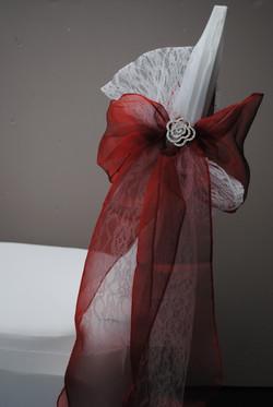 Linear Rose Brooch