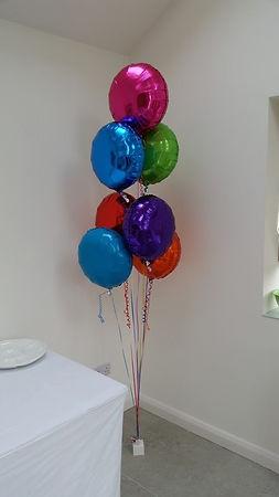 5 Balloon bouquet tulip style
