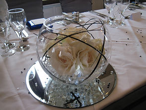 Small Fishbowl Centrepiece