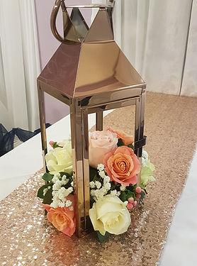 Rose Gold Lanterns