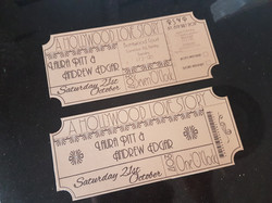 Art Deco DL Invitations