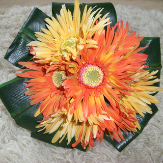 Artificial Gerbera Bouquet