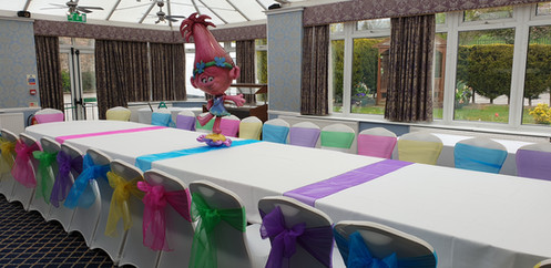 Troll party set up