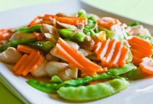 A Veggie + Chicken Stir-Fry Resolution