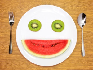 Are You as Happy to Eat the Fruit as the Smiling Fruit Is?