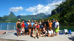 Teaching the UCLA Marine Biology Quarter in Moorea, French Polynesia