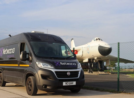 Networx3 Drones bring aviation history to life in Manchester UK