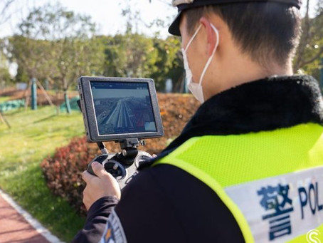 "Shanghaied by ice: Drones deployed by police ""to check for frozen roads"""