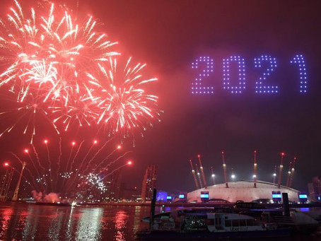 "Watch videos of 2021 Celebrations: ""Hong Kong, London, Seoul, Edinburgh, everybody talk about… drone"