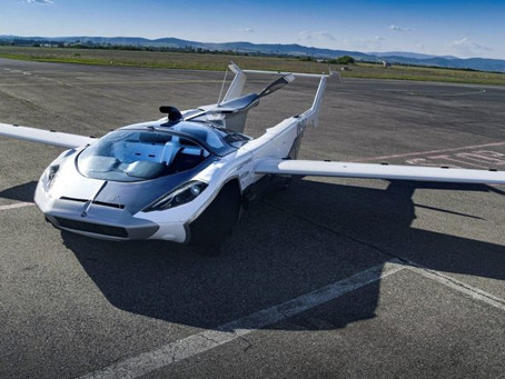 Watch Video: There are flying cars that are mere dreams and concepts and then there is this: Amazing