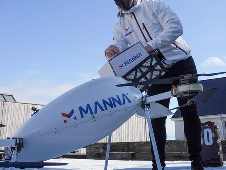 Watch video: Manna drone delivery trials with Tesco up and flying in Ireland