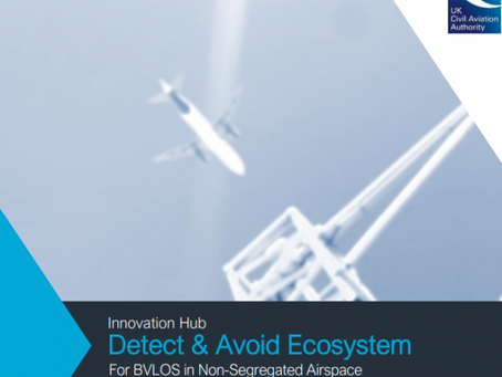 UK CAA publishes detect & avoid guidance for non-segregated BVLOS drone flights