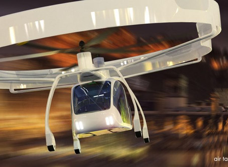 "New ""SumoAir Urban Air Taxi concept"" from UAVOS"